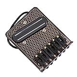 Nouveau style de chevalet 6 sillets de chevalet est nécessaire pour Fender Telecaster guitare électrique noir chromé accessoires d'instruments de musique ponticello
