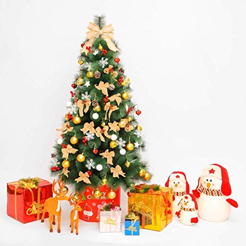 weiwei Artificial Christmas Tree LED in Front of The Bed Christmas Pine Easy Assembly Fiber Optic Tree Christmas Decoration Tree -6.9 feet (2.1 m)