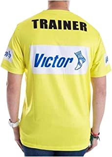 Victor Trainers T-Shirt - Yellow (Extra Large Size)