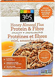 365 Everyday Value, Honey Almond Flax, Protein & Fiber, 13 oz