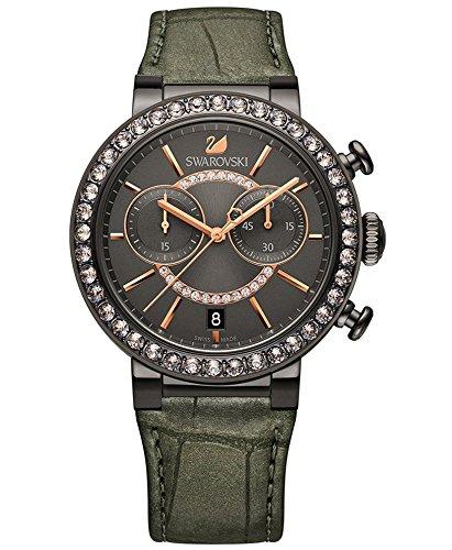 Swarovski Reloj analogico para Mujer de Cuarzo con Correa en Piel 5122040