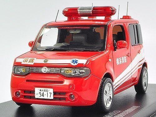 los nuevos estilos calientes CARNEL 1 1 1 43 NISSAN CUBE Z12 LIFESAVING OPERATION Yokohama City Fire Department rescue squad vehicle activity (japan import)  precio al por mayor