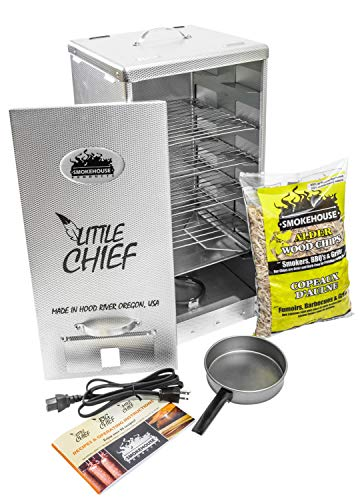 Smokehouse Products Little Chief Front Load Smoker, One...