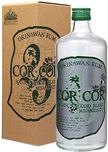 【国産ラム酒】 グレイスラム コルコル アグリコール(緑ラベル) 25度 720ml 箱付き