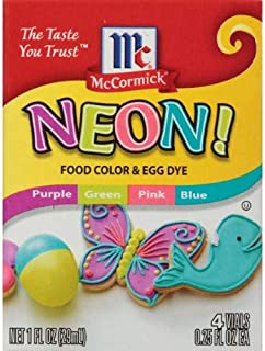 McCormick Assorted Neon Food Coloring Kit , Multi-Colored (Pack of 2)