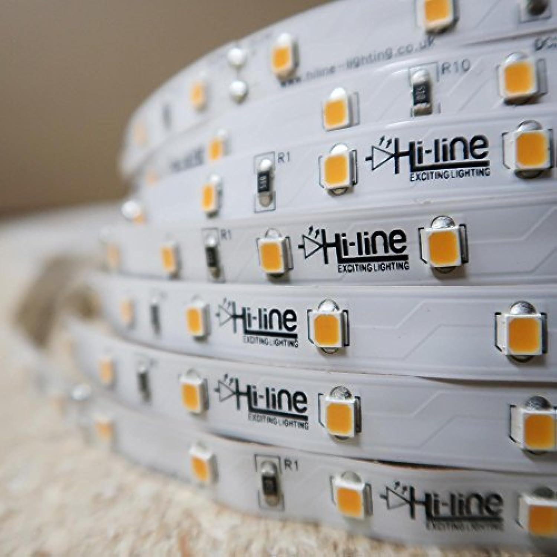 Warmweier LED-Streifen 24V-14,4W m- IP00-CRI90-SMD2835