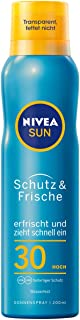 Nivea Sun Schutz & Fris LSF 30 transparante zonnespray, per stuk verpakt (1 x 200 ml)