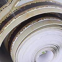 壁紙の境界線、PVC 環境に優しいウエスト ライン ウォール ステッカー、ファッショナブルな自己粘着性ウィンドウ ディスプレイ ドア