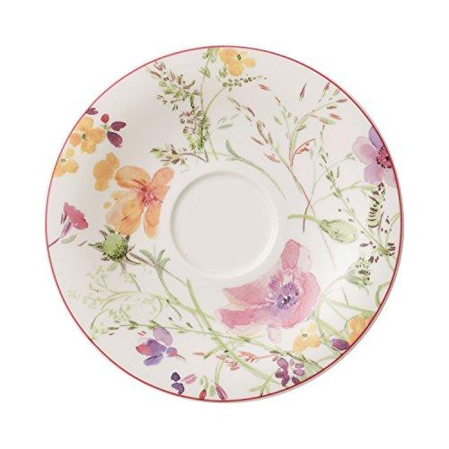 Villeroy & Boch Mariefleur Tea Sous-tasse, 16 cm, Porcelaine Premium, Multicolore