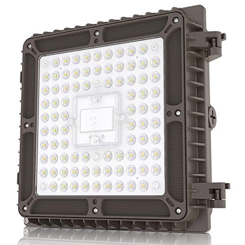 HYPERLITE LED Canopy Light 65W 8,450Lumens 350W HPS/HID Replacement,9.1