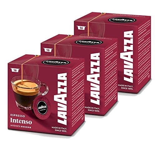 Lavazza A Modo Mio Intenso Coffee Capsules (3 Packs of 16)