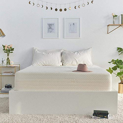 Brentwood Home Cypress Cooling Gel Memory Foam Mattress, Non-Toxic, Made in California, 11-Inch, Twin Size