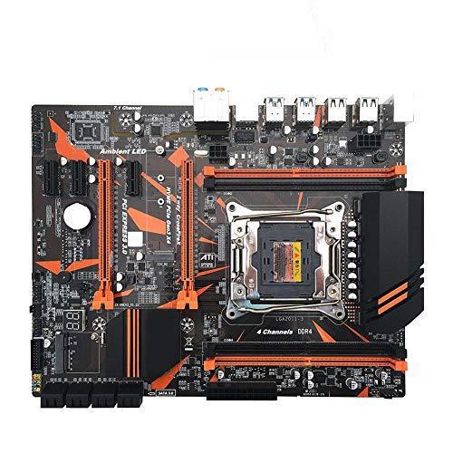 Thelastplanet X99 CPU Moederbord ATX LGA2011-3 WIFI, USB3.0, SATA3 En M.2-interface, DDR4 4-kanaals Geheugen, Stabiel Snel Computermoederbord Met Gigabit Netwerkkaart