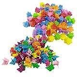 Mini Pinzas Cabello Color Mini Pinzas Pelo Colores Mini Pinzas Pelo Garra...