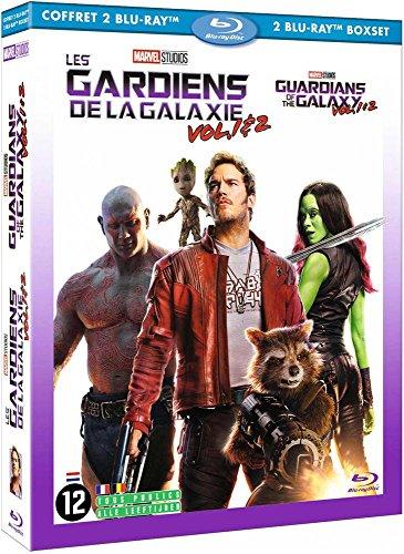 Les Gardiens de la Galaxie 1 + 2 [Francia] [Blu-ray]