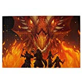 Lidanie Dungeons and Dragons 3D Printed Game Series Puzzle 1000 Pieces