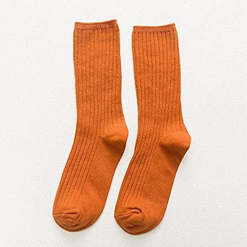 Alvnd Socks Women's Thin Section Cotton Socks Trend Wild Socks Socks Casual Socks (3 Pairs) (Color : C, Size : 4-7 UK/35-46 EU)