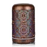 ESTINHOME 250ML Essential Oil Diffuser Red Bronze Aroma...