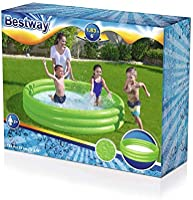 BESTWAY ASST. 3-RING POOL183X33CM-26-51027