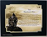 """Best The Goozler Fathers - Army Gift for Dad """"My Greatest Hero"""" Poem Review"""