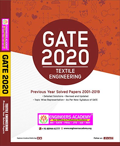 GATE  Textile & Fiber Engineering Previous Year Solved Papers