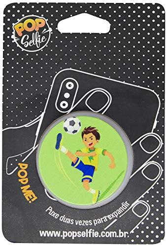 Apoio para celular - Pop Selfie - Original Jogador Futebol Ps236, Pop Selfie, 151474, Branco