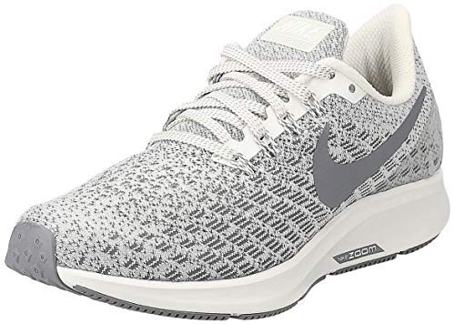 Nike Women's WMNS Air Zoom Pegasus 35 Running Shoes, Grey (Phantom/Gunsmoke/Summit White 004), 6.5 UK