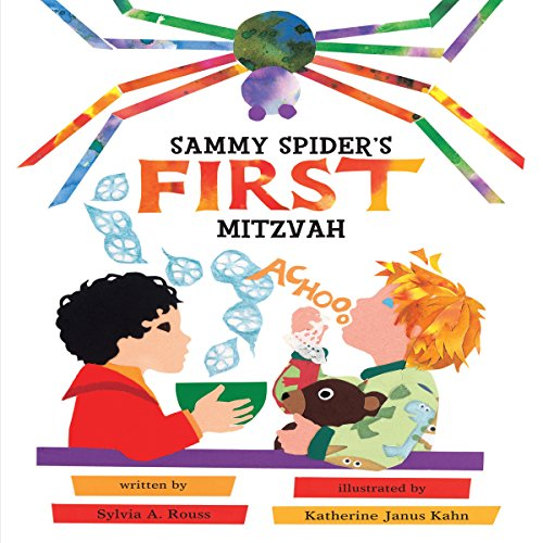 Sammy Spider's First Mitzvah audiobook cover art