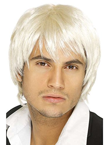 Perruque boy band blonde