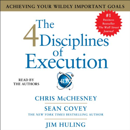 The 4 Disciplines of Execution cover art