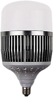 YS&VV Bombilla 30W IP20 E27 Lámpara LED Super Brillante Alta potencia 360 ° Iluminación de iluminación diurna 2000LM 6500K, Tamaño: 10 * 10 * 20 CM (Luz Blanca)