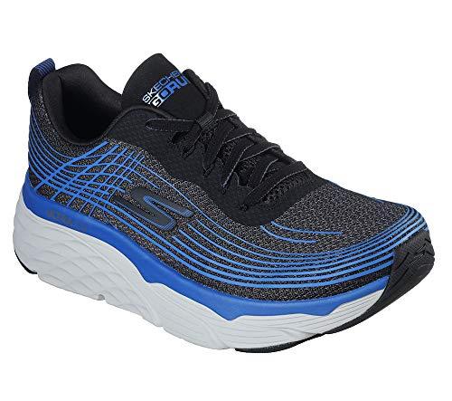Skechers Men's Max Cushioning Elite-Performance Walking & Running Shoe Sneaker, Black/Blue, 11 D US