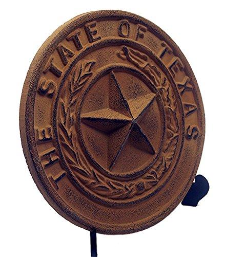 IWGAC 0170S-05118 Cast Iron Large Texas State Seal