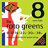 ROTOSOUND ROT-R8 Roto Greens Extra Light エレキギター弦