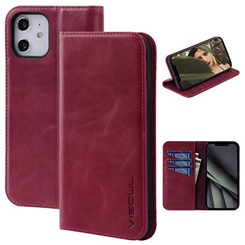 VISOUL Phone Cover with Card Holder Designed for iPhone 12 Mini Only $3.45