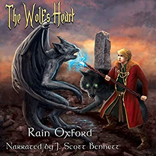 The Wolf's Heart audiobook cover art