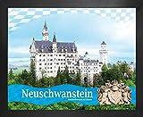 1art1 Schloß Neuschwanstein Poster Kunstdruck und