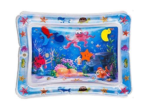 NEU! HUKITECH Sea World (Inflatable) Play Mat Sea Animals Paddling Pool Water Bed Mattress Pool for Baby and Children