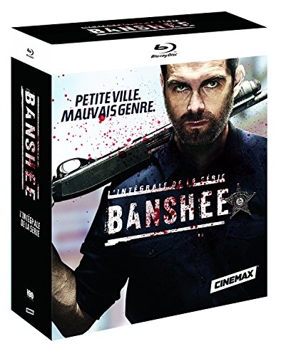 Banshee BOX Staffel/Season 1-4 BLU-RAY BOX UNCUT IMPORT MIT DEUTSCHEM TON