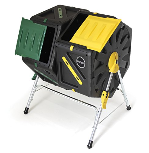 Buy Miracle-Gro DC270MG DC140 Dual Chamber Tumbling Composter