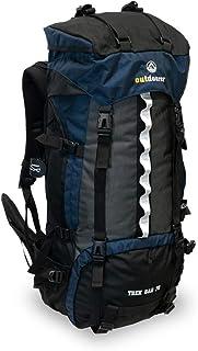 outdoorer Mochila de Trekking Trek Bag 70, diseño 2019, 2kg - Mochila de Trekking Ideal, Mochila de Viaje