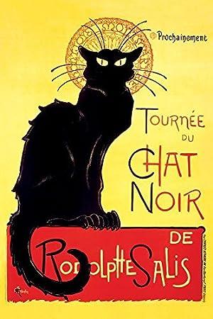 Premium Postcard; Le Chat Noir