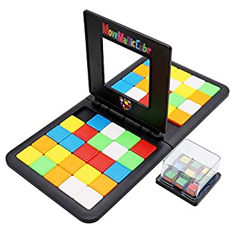 Magic Block Game Cube Puzzle Game Race Board Game Fast Speed Match Game for Kid and Adult