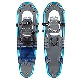 Cocoarm 30 Pulgadas Raquetas de Nieve Softboot, Marco de Aluminio Ligero con Hebilla de liberación rápida Zapatos de Nieve