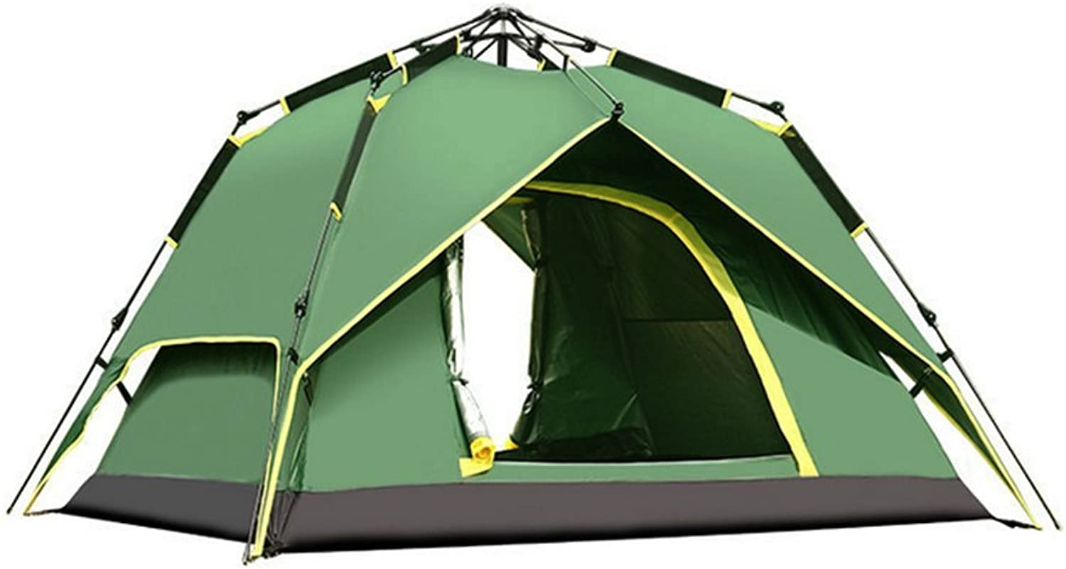 Outdoor Camping Tent, Full Double Camping 34 People Portable Cottage Beach Tent