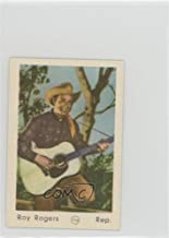 Roy Rogers (Trading Card) 1952 Maple Leaf Gum Film Stars Number in Circle - [Base] - Printed in Holland #116