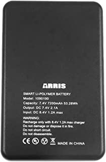 ARRIS 7.4V 7200Mah Lipo Battery for Heated Vest and Heating Jacket …