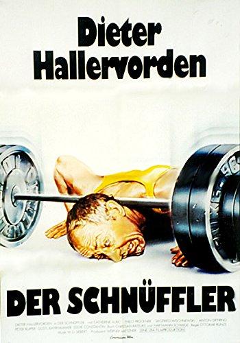 Didi Hallervorden: Der Schnüffler (1983) | original Filmplakat, Poster [Din A1, 59 x 84 cm]