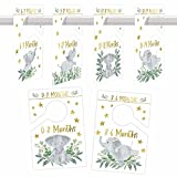 6 Hanger Dividers Baby Closet Size Dividers - Elephant Baby Closet Dividers,...