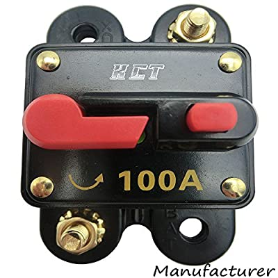 Car Audio Circuit Breaker Reset Fuse For System Protection 12V/24V